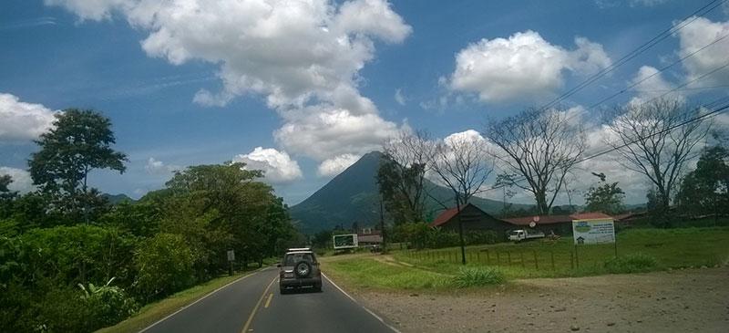 Camino a La Fortuna, Volcán Arenal, Costa Rica